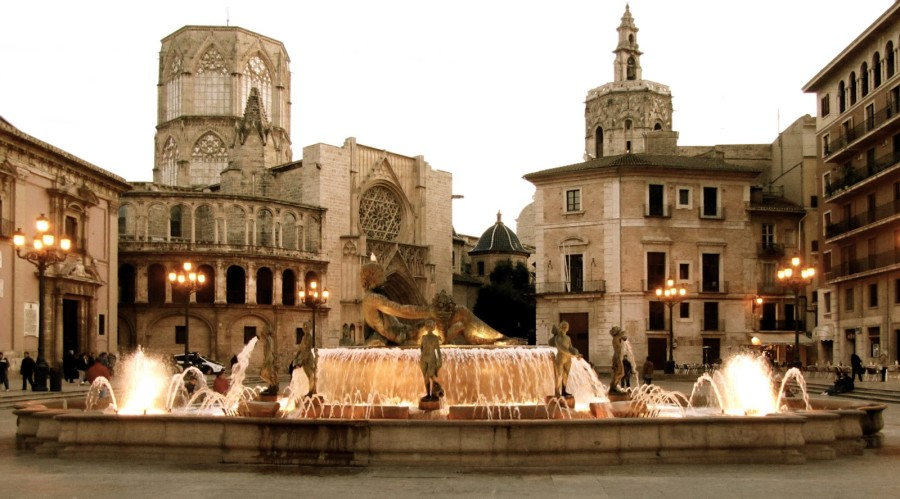 The historic quarter of the city of Valencia