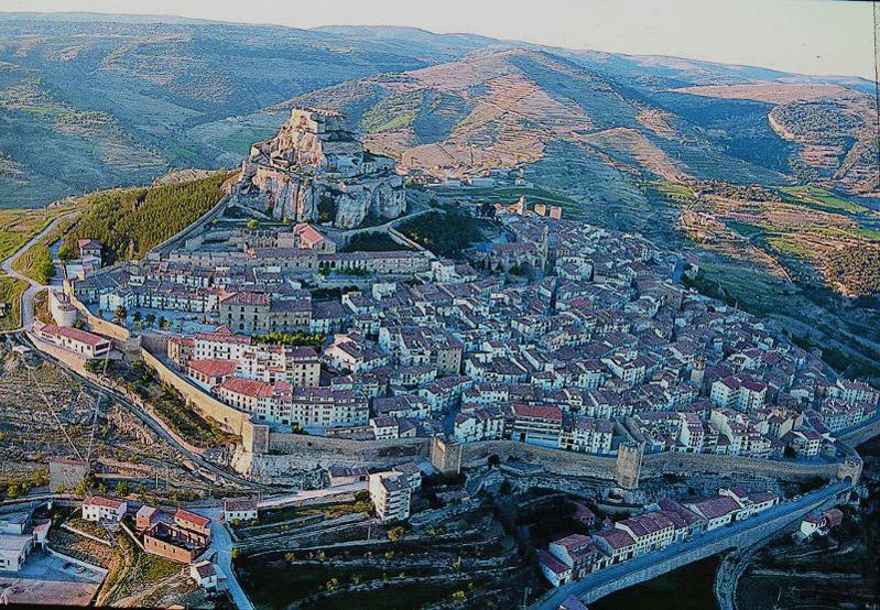 The high mountain village of Morella in Castellon Province