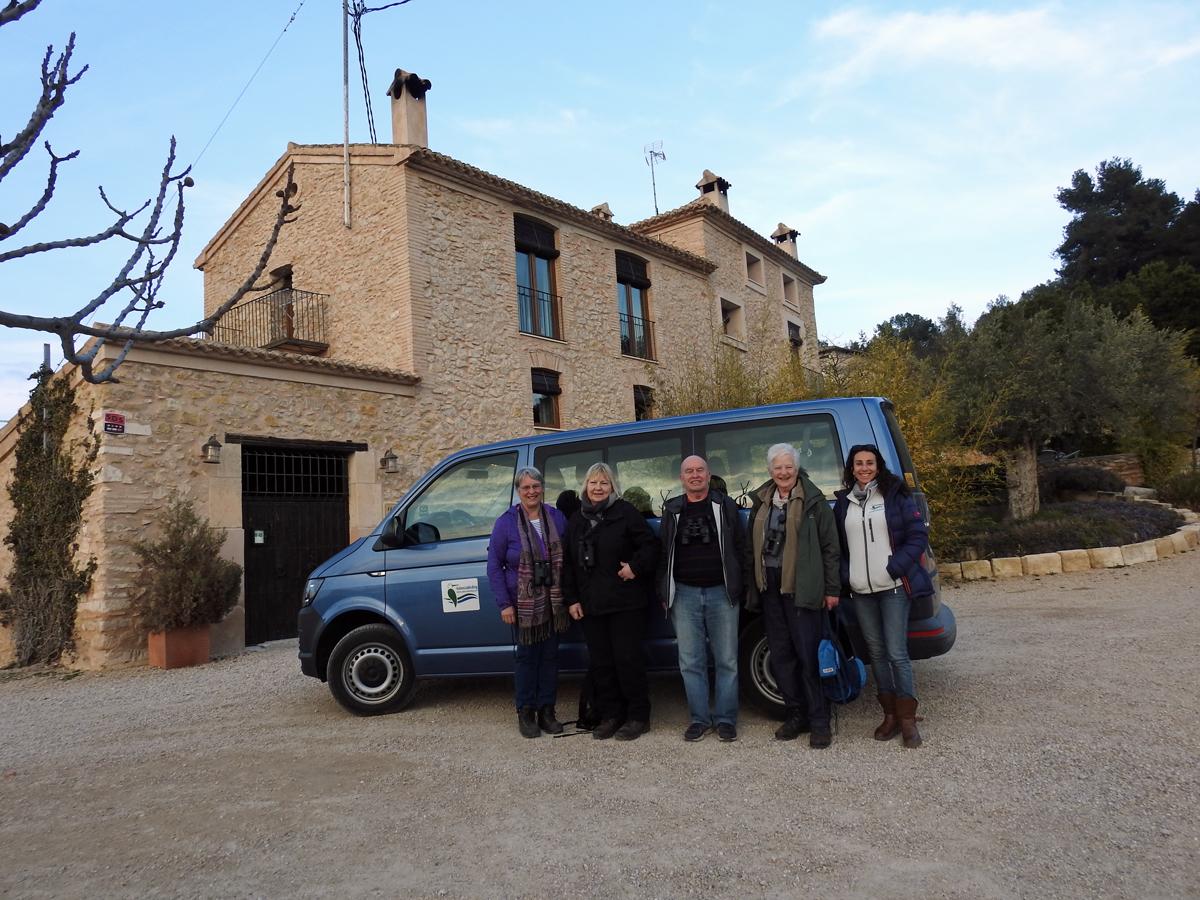 At the guesthouse L´Alqueria del Pilar